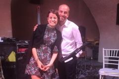 With Greta Marcolongo 2015