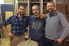 With Markus Unterthurner and Urban Piazzi - www.up-drums.com