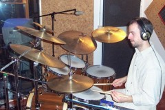 Amàrimer Project's recording session (visit Drumming/Discography on menu)