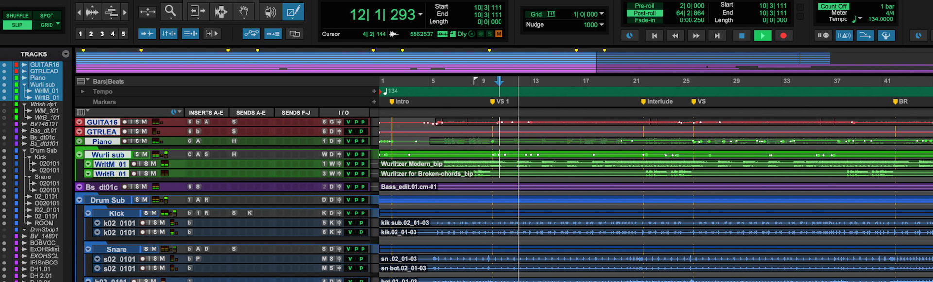 Remote Recording Drums Studio